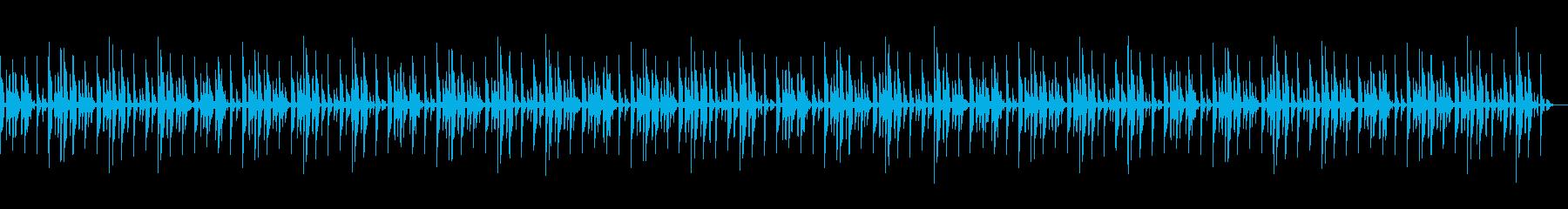 KANTお手軽エレクトロBGMの再生済みの波形