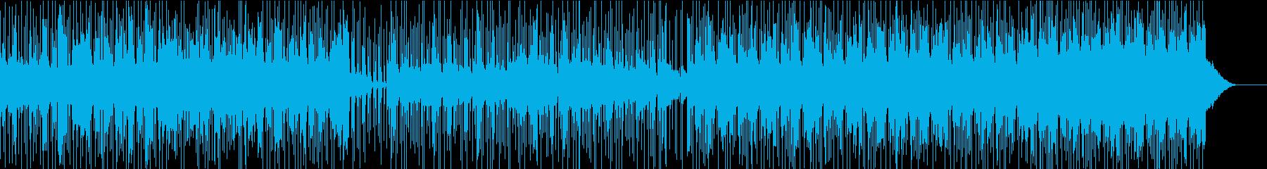 トレーニング 挑戦する男のbgmの再生済みの波形