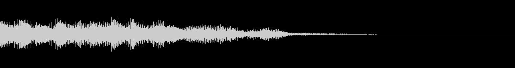画面転換に使える綺麗なSEの未再生の波形