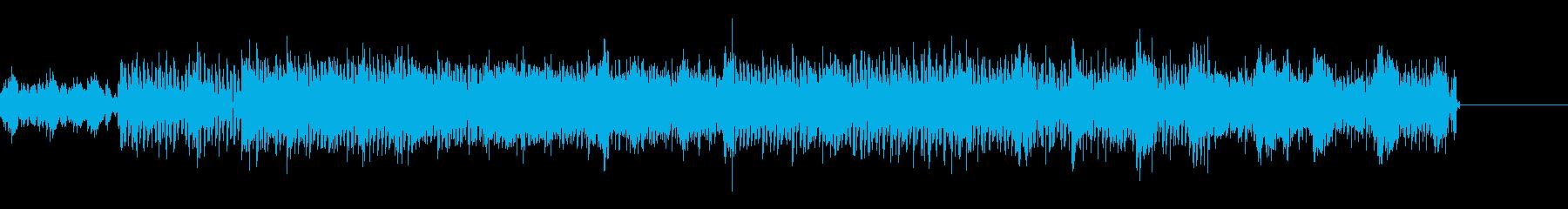 サイバーでグリッジなIDMの再生済みの波形