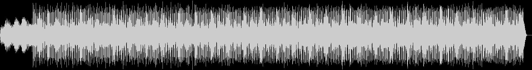 軽快で幻想的なエレクトロニカの未再生の波形