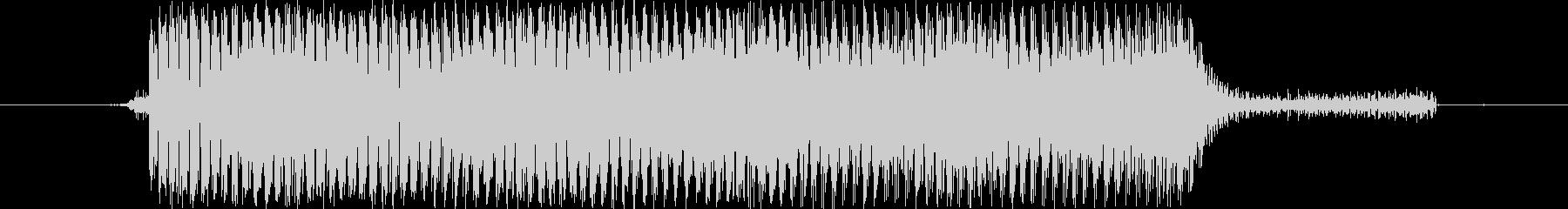 【効果音/電子音/機械/ビーム】の未再生の波形