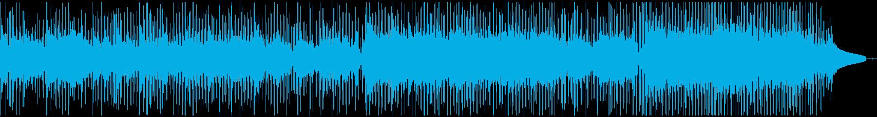 未来・希望・採用動画・企業VP・学校案内の再生済みの波形