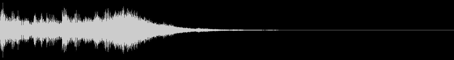 オーケストラなアイキャッチの未再生の波形