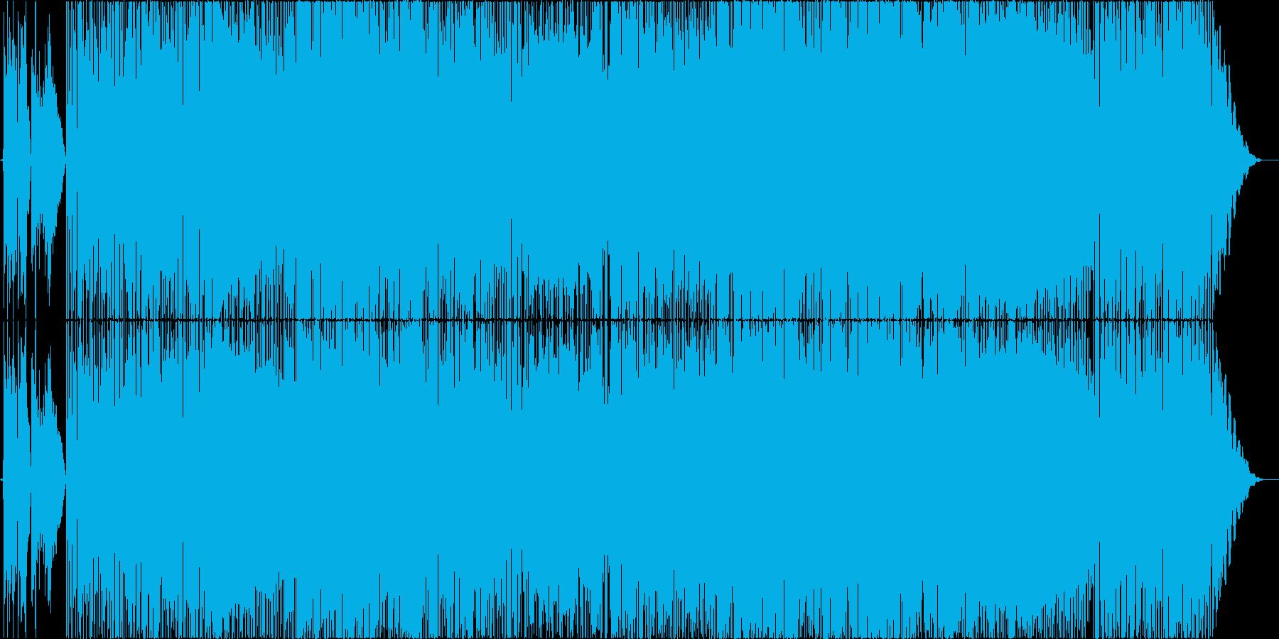 鮎の友釣りを題材にした夏の長閑なポップスの再生済みの波形