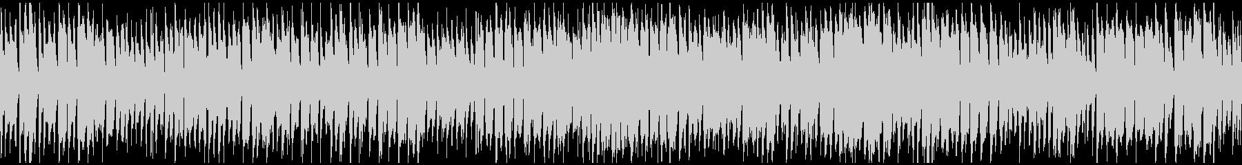 陽気コメディ系サックスポップス※ループ版の未再生の波形