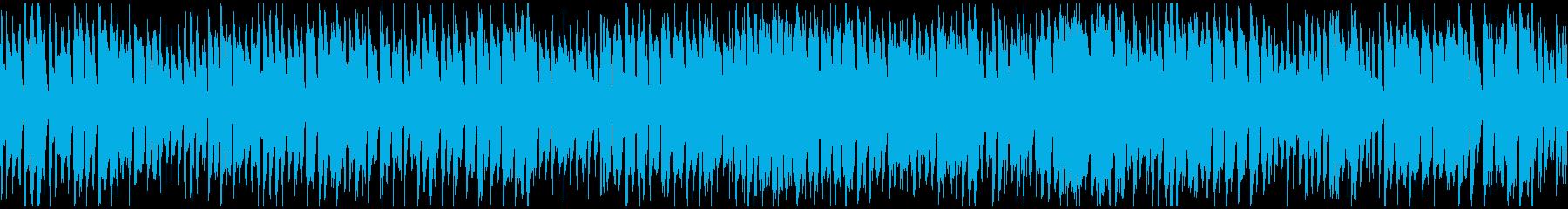 陽気コメディ系サックスポップス※ループ版の再生済みの波形
