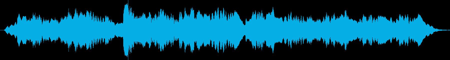 哀愁のあるフルートが印象的なブルースの再生済みの波形