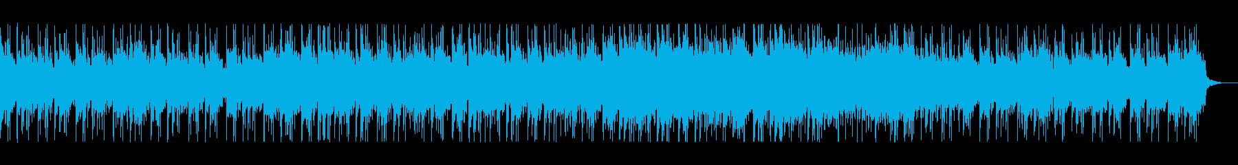 シンセが印象的なSFっぽいポップスの再生済みの波形