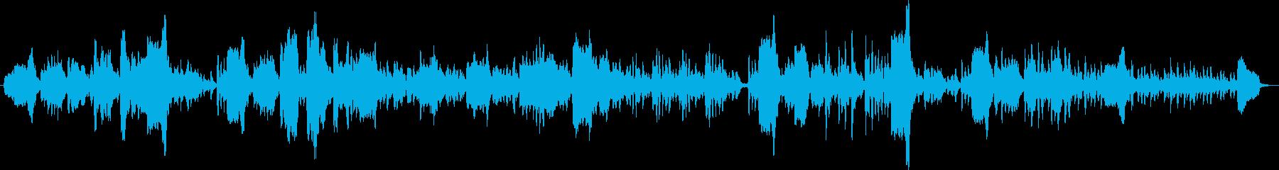 サロン風 木管三重奏 楽しげな感じの再生済みの波形