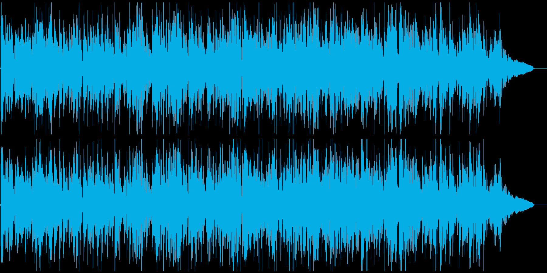 生演奏サックス渋いアコースティックジャズの再生済みの波形