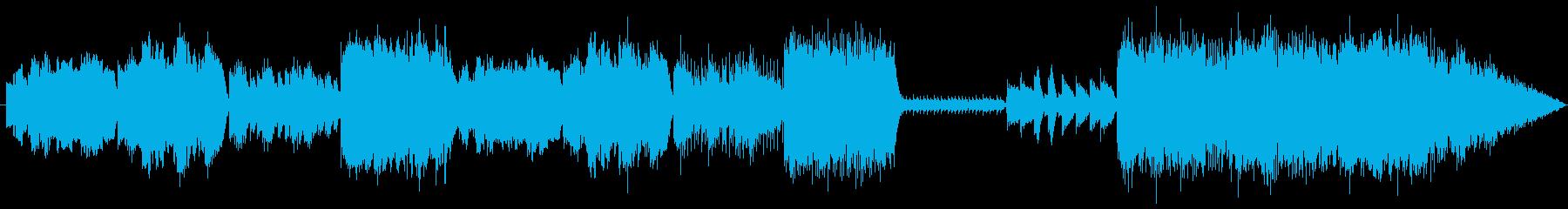 冬の雪だるまをイメージした楽曲です。の再生済みの波形