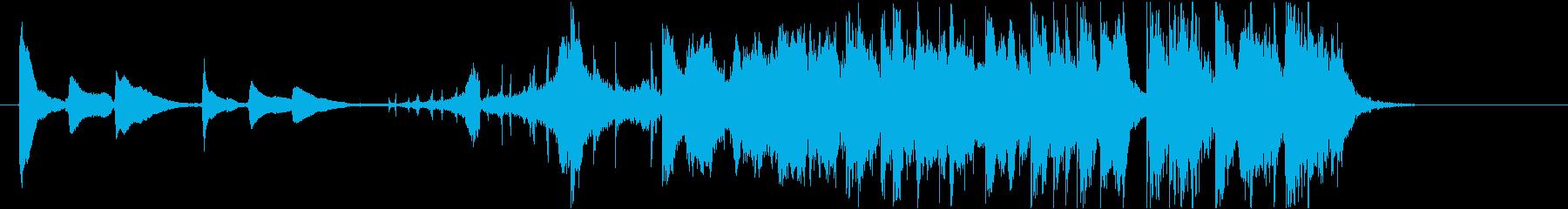フュージョン ジャズ アンビエント...の再生済みの波形