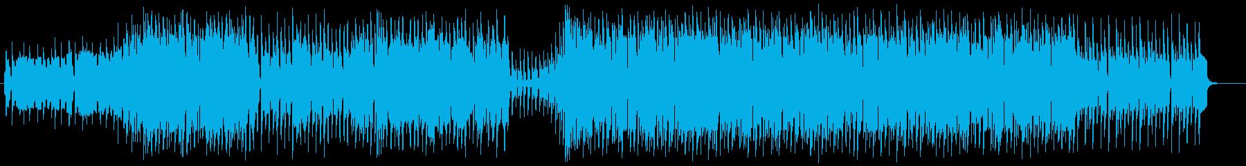 チップチューンを使った軽快なポップの再生済みの波形