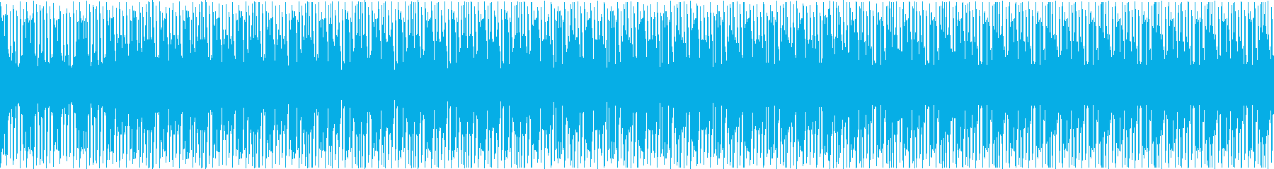 定番のあえてさりげないハウスの再生済みの波形