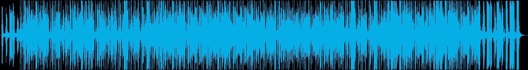 70年代のクラシックなジャズファンクの再生済みの波形