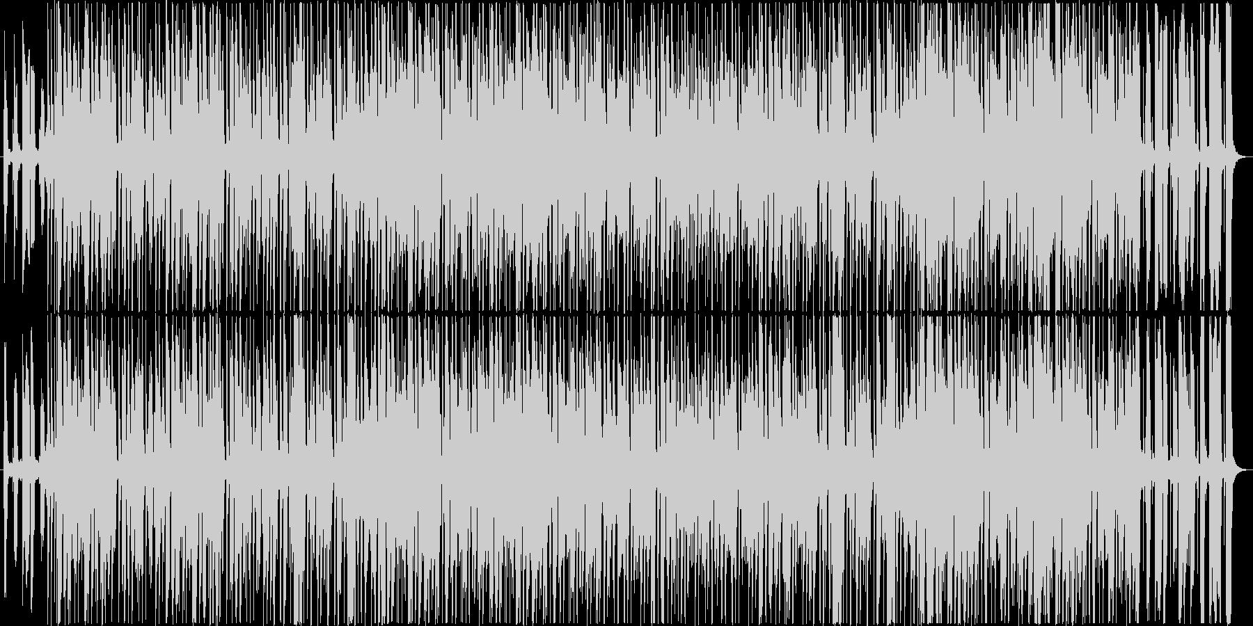 70年代のクラシックなジャズファンクの未再生の波形