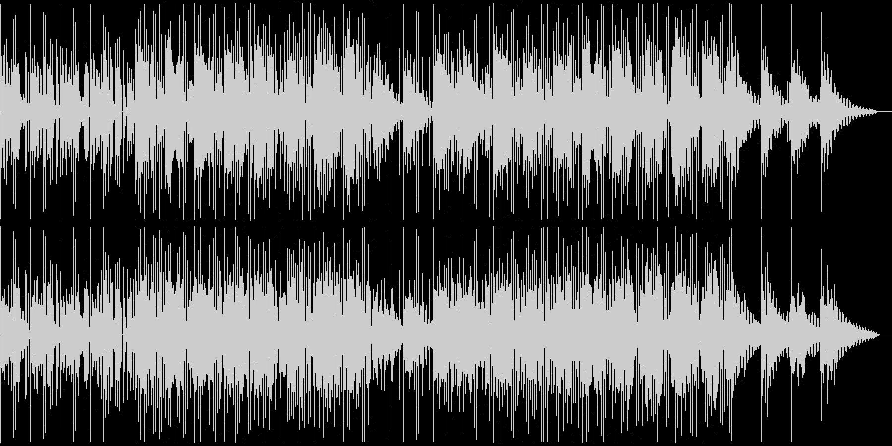 ピアノとギター/しっとり,お洒落なR&Bの未再生の波形