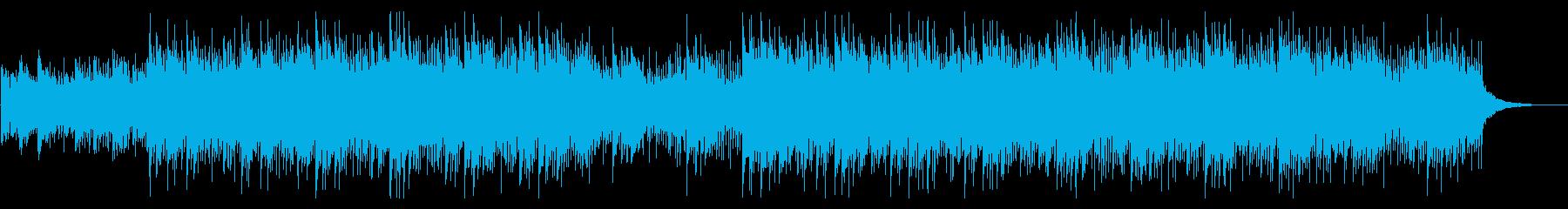 クールな雰囲気のアンビエントEDMの再生済みの波形