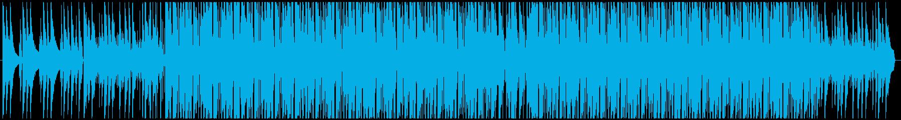 夜っぽい雰囲気のジャズファンクの再生済みの波形