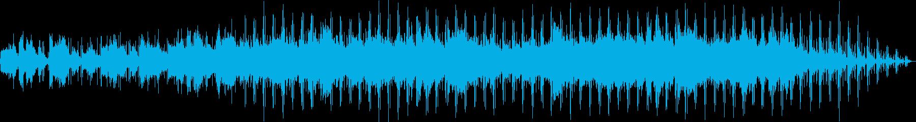 中国の笛が心地よいヒーリングニューエイジの再生済みの波形