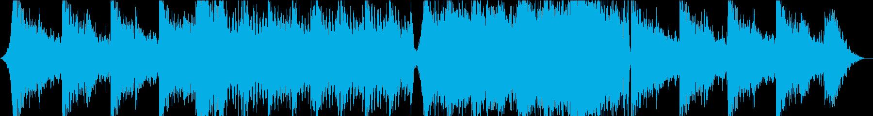 現代の交響曲 広い 壮大 素晴らし...の再生済みの波形