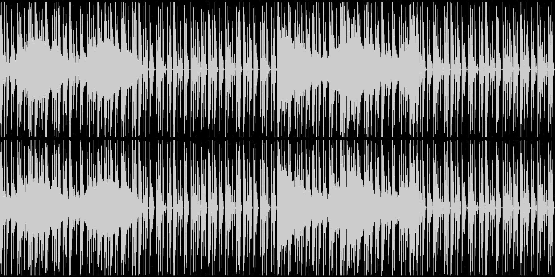 【エレクトロニカ】テクノ、ロング3の未再生の波形