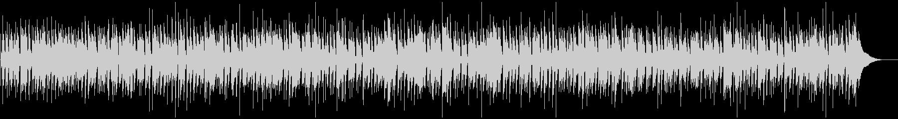 ほのぼのボサノバのBGMの未再生の波形