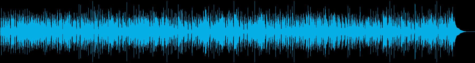 ほのぼのボサノバのBGMの再生済みの波形