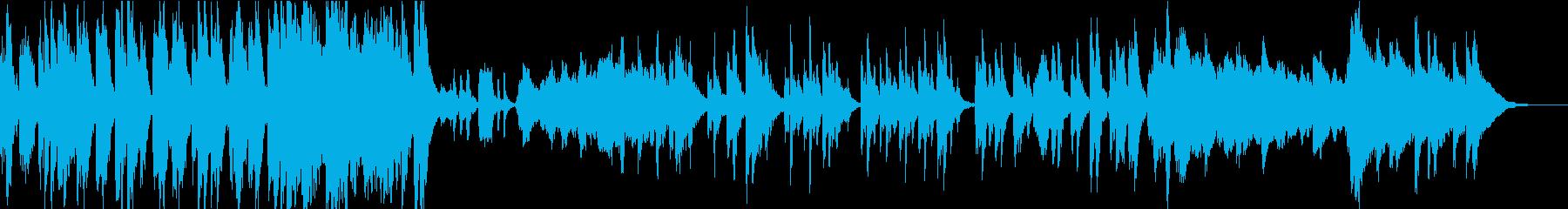ファンタジーのコミカルなシーン/ハリポタの再生済みの波形
