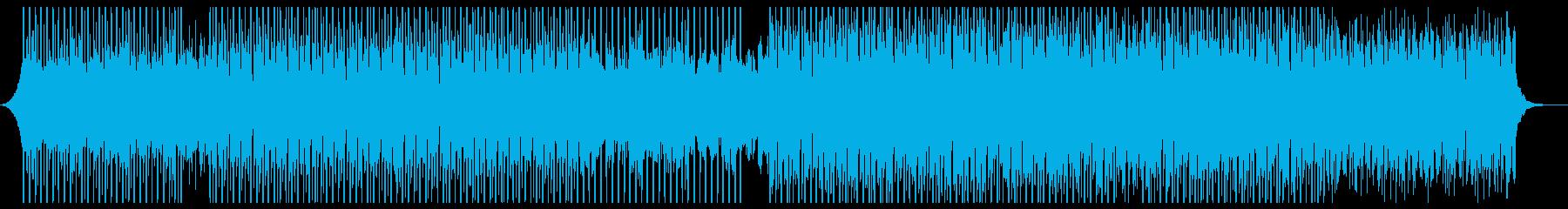 テクノロジーアップビートの再生済みの波形