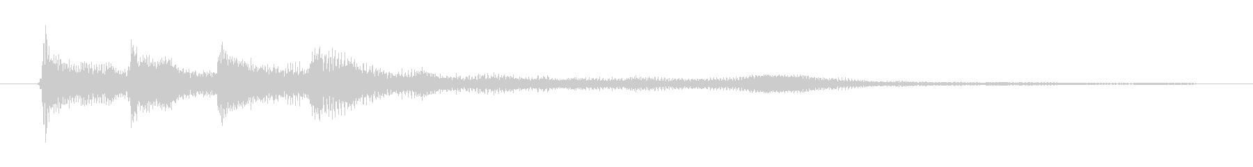 ゲーム、クイズ(正解)_001の未再生の波形
