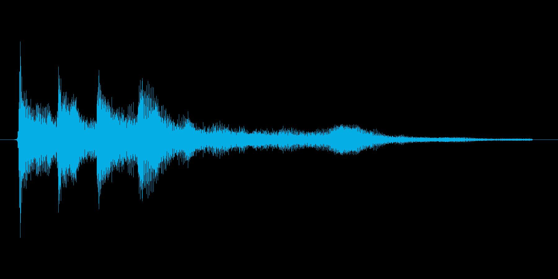 ゲーム、クイズ(正解)_001の再生済みの波形