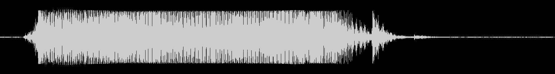 ギターメタルパワーコードkの未再生の波形