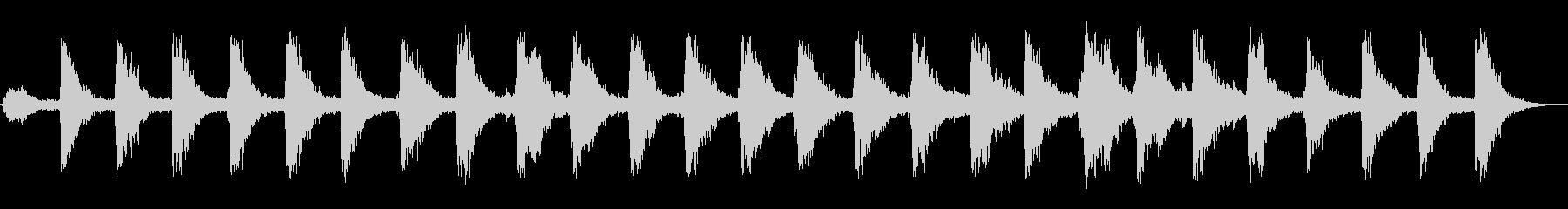 シャンシャン・・・(スレイベルの音)の未再生の波形