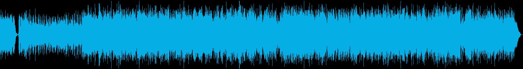 民族音楽・中近東風・フーガ形式・変拍子の再生済みの波形