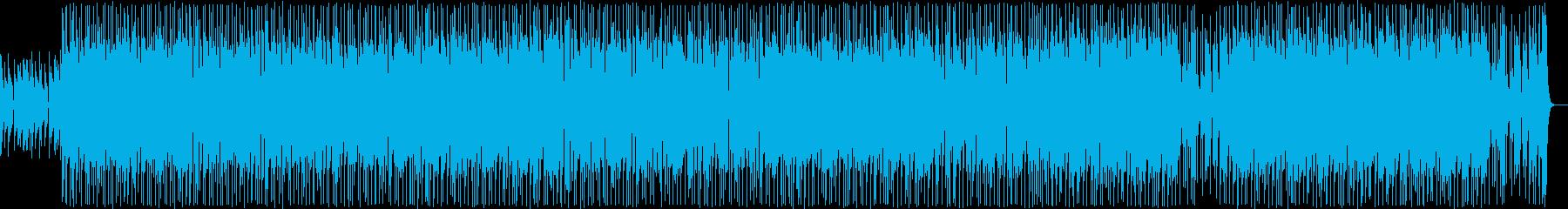 ワイルドなハードロック2の再生済みの波形