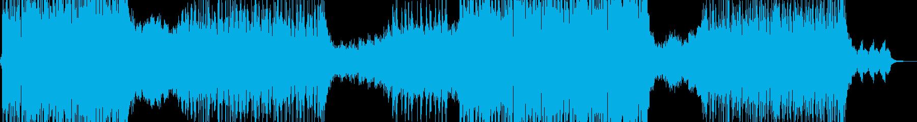 近未来的な作品に・クセになるR&B 短尺の再生済みの波形