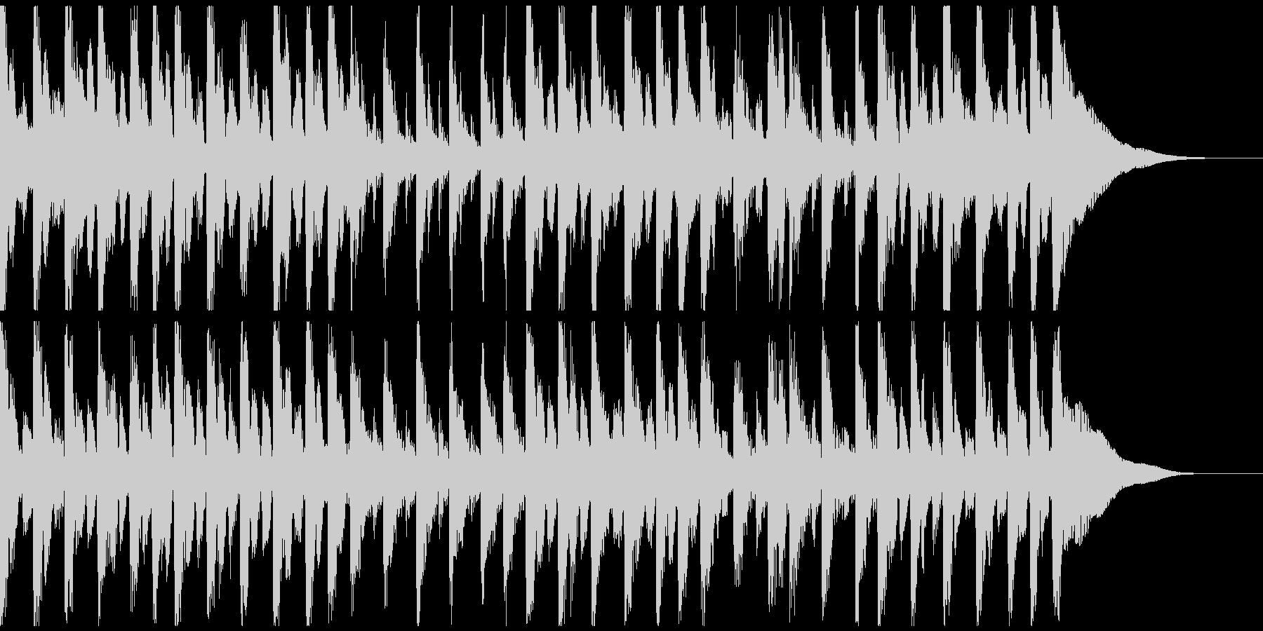 アコギロック、シュール、面白い映像。の未再生の波形