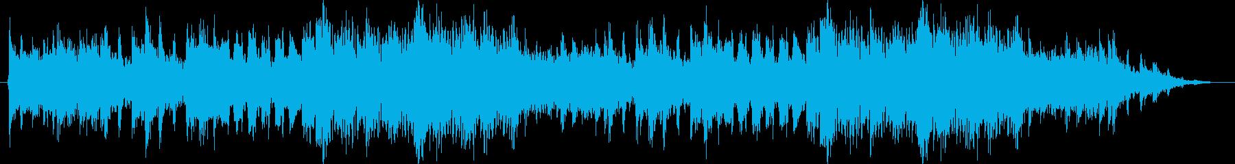 疾走感と緊張感ある戦闘曲(オーケストラ)の再生済みの波形