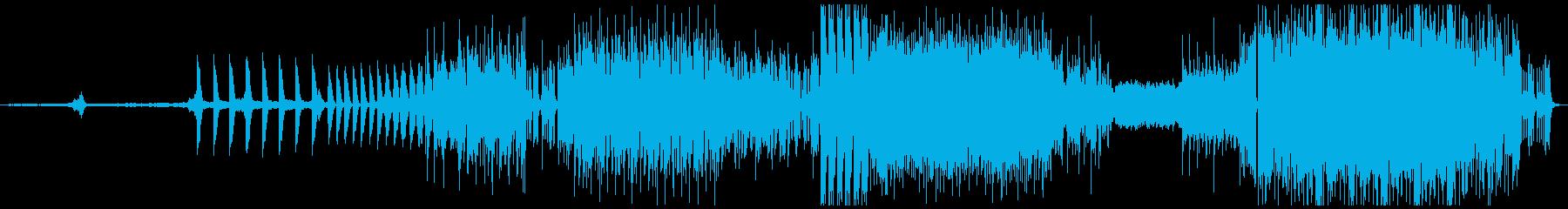 映画のサウンドトラックの再生済みの波形
