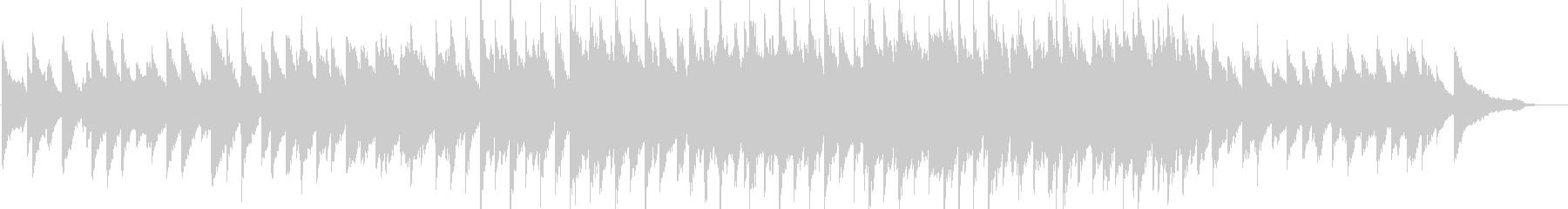 感動・壮大・バラード・ピアノソロの未再生の波形