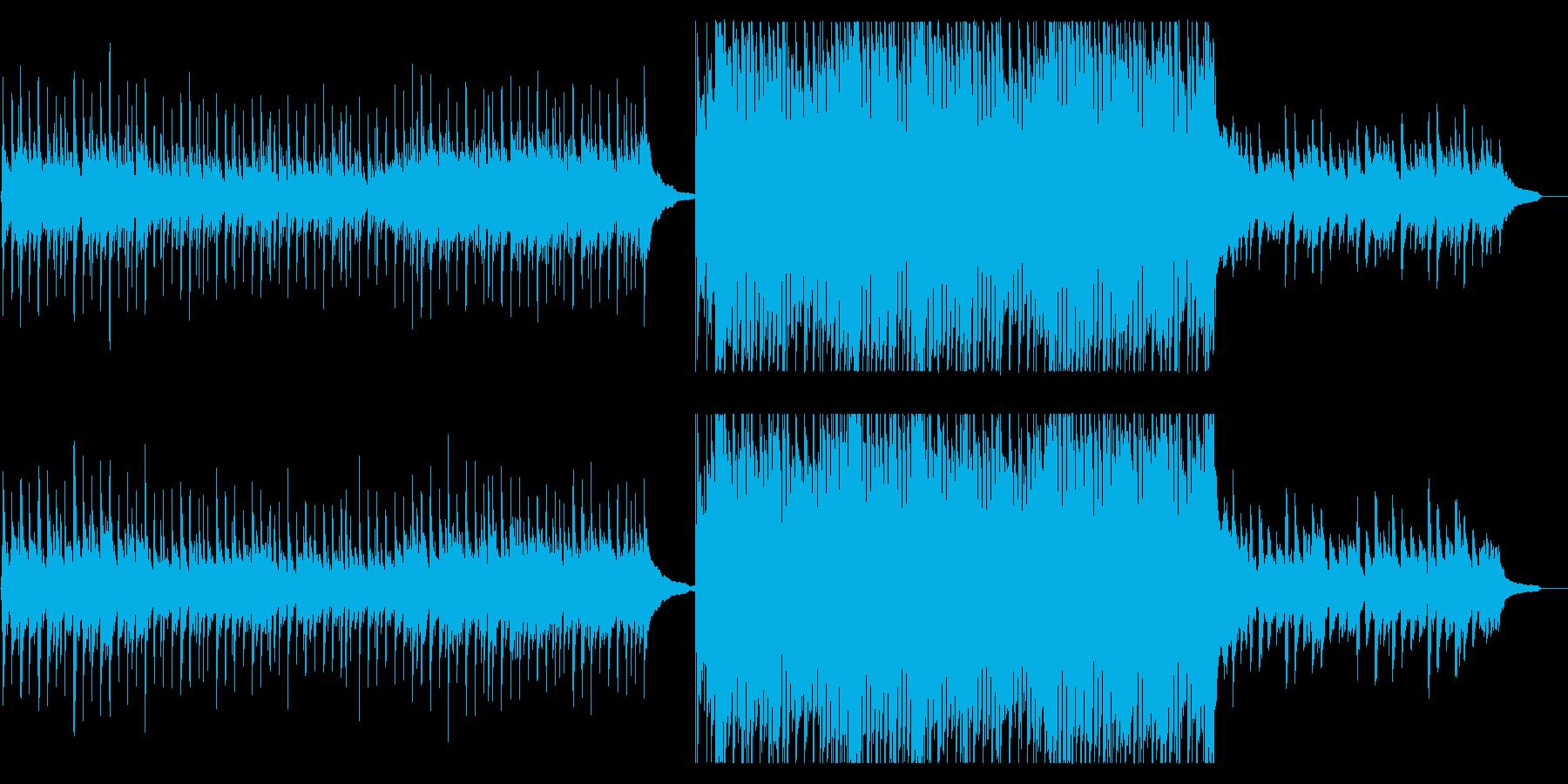 切ない雰囲気アコースティックPOPSの再生済みの波形