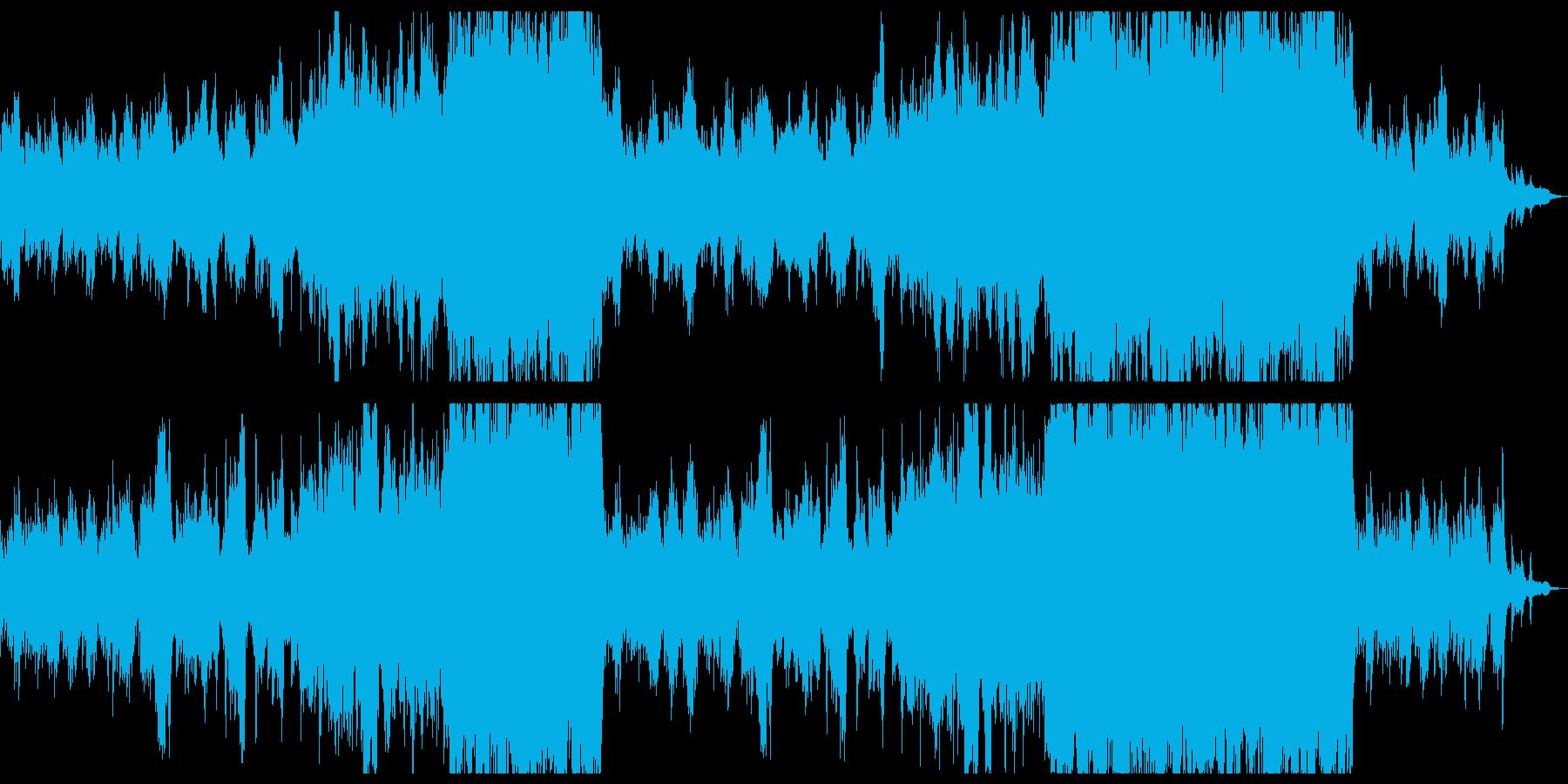 落ち着いた感動を作るシネマティックチル。の再生済みの波形