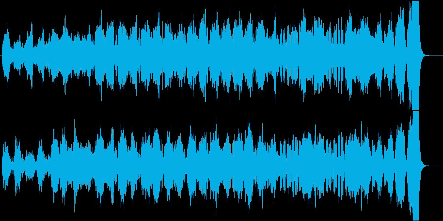 不気味な場面をオーケストラで表現の再生済みの波形