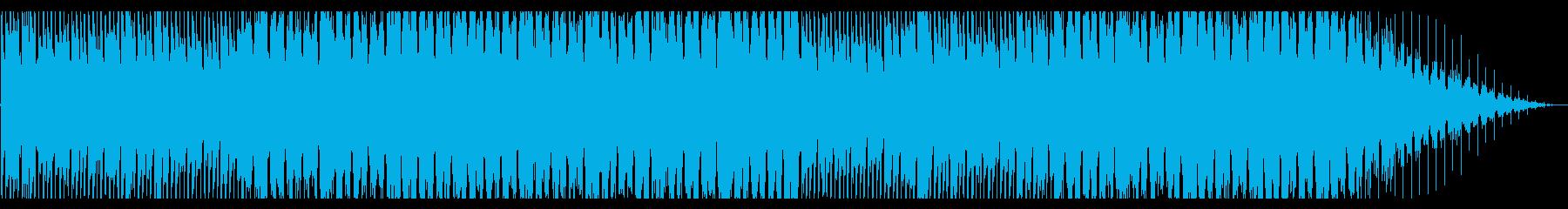 電子の世界を感じるBGMの再生済みの波形