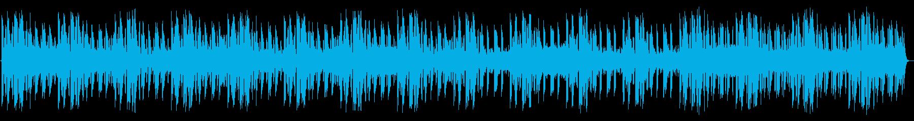 ニュース ヘッドライン 3パターン入りの再生済みの波形