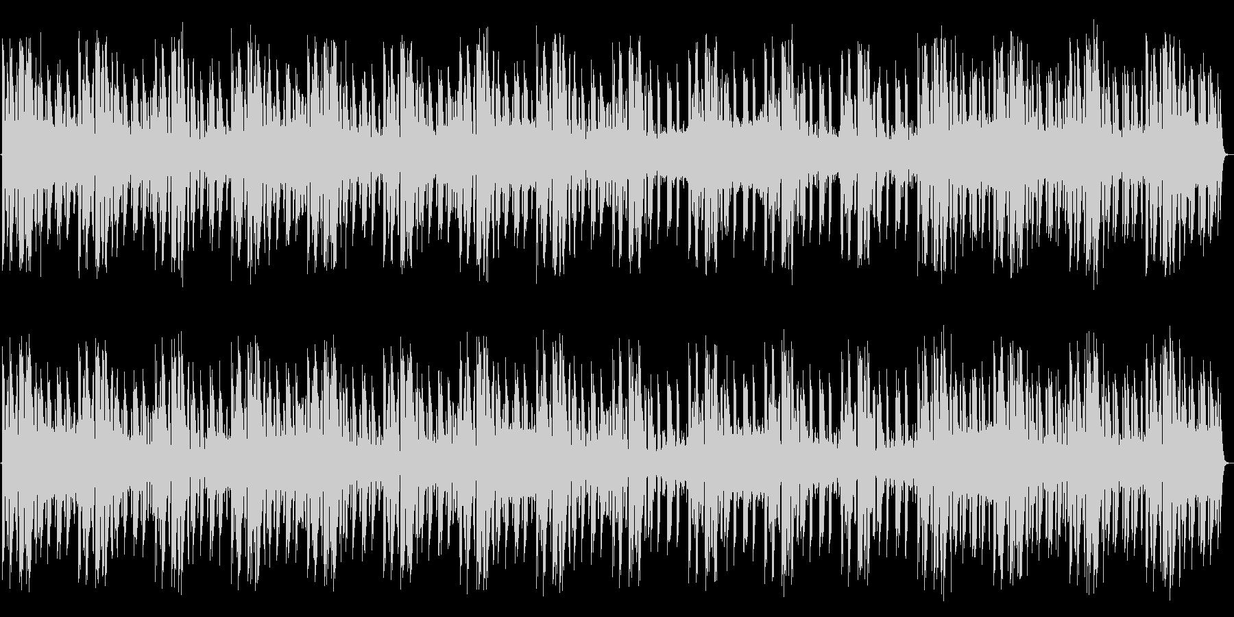 ニュース ヘッドライン 3パターン入りの未再生の波形