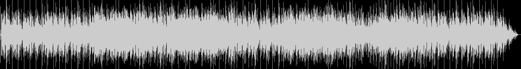 軽快なインスト曲、メロディはピアノ音の未再生の波形