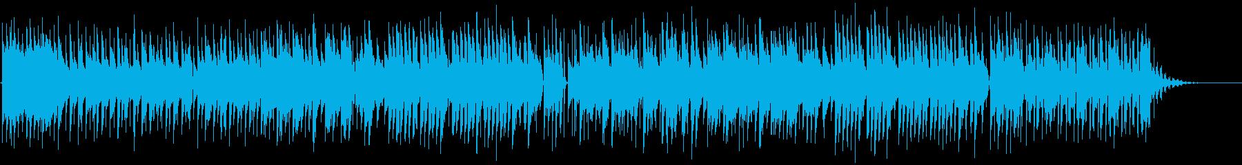 60年代風ポップロックPart2の再生済みの波形